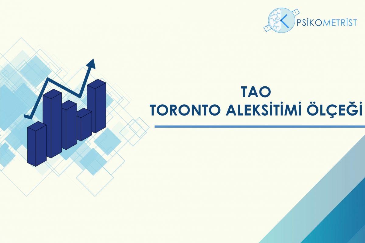 Toronto aleksitimi ölçeği, bireylerde alaksitimi varlığı ve düzeyini ölçmek amacı ile uygulanmaktadır.