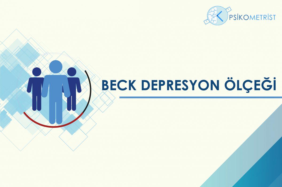 Beck depresyon ölçeği kendi kendini değerlendirme yöntemi ile uygulanan bir ölçektir. Sağlıklı kişilerde tarama amaçlı kullanılırken, depresyon veya diğer psikiyatrik hastalıkların varlığında depresyon belirtilerinin ve depresyon düzeyinin belirlenmesinde kullanılır.