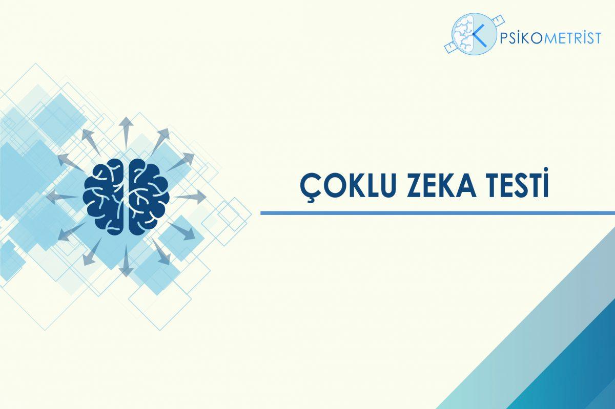 Eğitime ve zeka kavramına yeni bir yaklaşım getiren çoklu zeka kuramı ile geliştirilmiş Çoklu Zeka Testi, bireylerin sahip oldukları farklı zeka türlerini ve bileşenlerinin farkına vararak,gerek mesleki gerek kişisel yaşamı şekillendirmek adına başvurabilecekleri bir testtir.